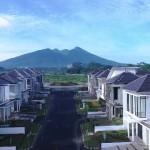 Tamansari Cyber, Bogor dengan view gunung Salak yang menawan