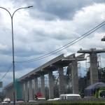 Progres Pembangunan LRT Koridor Cawang-Cibubur