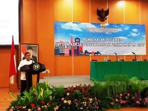ujar Direktur Jenderal Penyediaan Perumahan Kementerian PUPR Syarif Burhanuddin saat memberikan arahan pada Pembekalan Pegawai Satker Pengembangan Perumahan  di Kementerian PUPR, Jakarta, Rabu (1/2/2017)