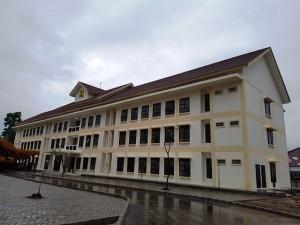 rumah susun sewa (Rusunawa) yang diperuntukkan bagi Pasukan Pengamanan Presiden (Paspampres) Grup C Lawang Gintung, Bogor