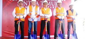 BPL Topping Off Kawasan Bisnis Di Sentra Timur