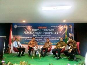 Diskusi Kupas Tuntas Pembiayaan Properti yang diselenggarakan oleh DPD APERSI DKI Jakarta