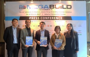 Press Conference Megabuild Indonesia 2017