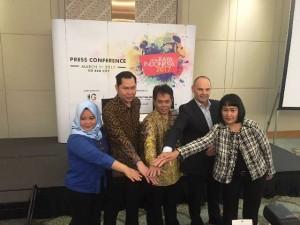 Direksi Sinar Mas Land dan Panitia Penyelenggara PRI 2017