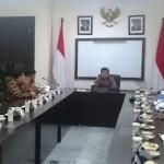 Apersi audiensi dengan Wapres Jusuf Kalla di kantornya