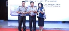 BNI Luncurkan Kartu BNI Polri Promoter