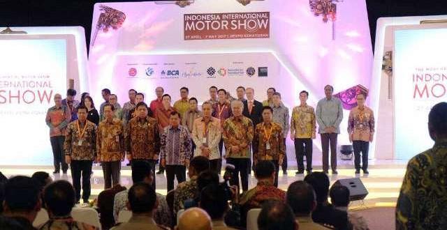 Wapres RI Resmikan Event Tahunan IIMS 2017
