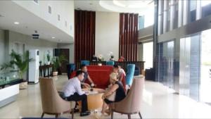 Open house Ocea Condotel yang dikembangkan oleh grup Bakrieland Development