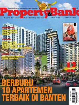Cover Majalah Property&Bank Edisi Mei 2017