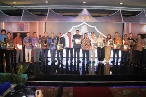 Para penerima Indonesia MyHome Award (IMHA) tahun 2017