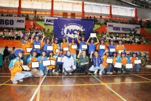 Gathering karyawan PT Nusantara Card Semesta (NCS)