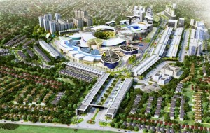 Konsep pengembangan South City