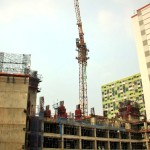 Progres Pembangunan Tower Sapphire Sentra Timur Mei 2017