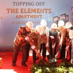Prosesi topping off The Element