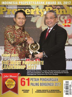 Cover Property&Bank edisi khusus IPBA ke XII, November 2017