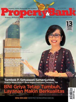 Cover Property&Bank edisi 149, tahun 2018
