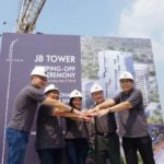 topping off JB Tower