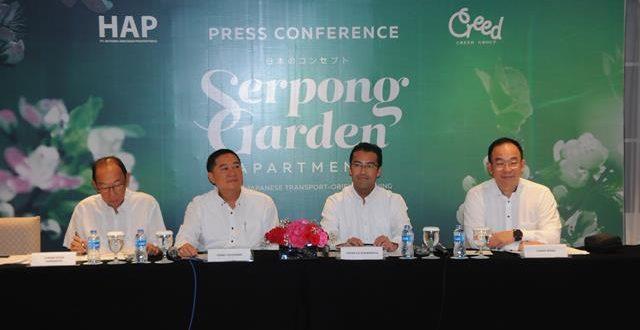 Creed Group Jepang Ikut Kembangkan Serpong Garden Apartment