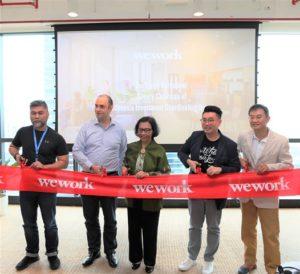 WeWork Hadrkan Ruang Aktifitas di Revenue Tower dan Sinarmas MSIG