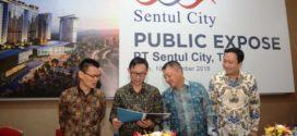 Hingga September 2018, Marketing Sales Sentul City Rp 813 Miliar