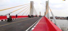 Jembatan Ampera Kian Padat, PUPR Mulai Fungsikan Musi IV