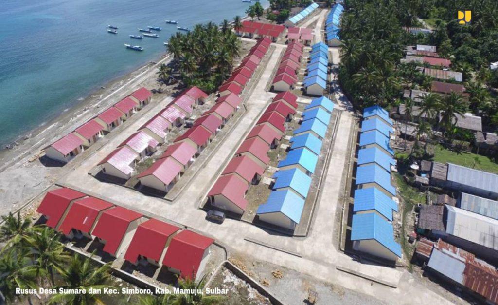 1.070 Unit Rusus Sudah Dibangun di Sulbar Pada 2015-2018