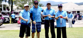 Siswono Yudohusodo Buka Tournament Golf Alumni Universitas Pancasila di Sentul