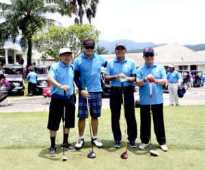 Siswono Yudohusodo Buka Tournament Golf Alumni Universitas Pancasila