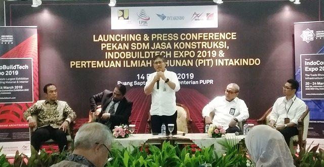 Maret, PUPR Gelar Pekan SDM Ahli Jasa Konstruksi 2019
