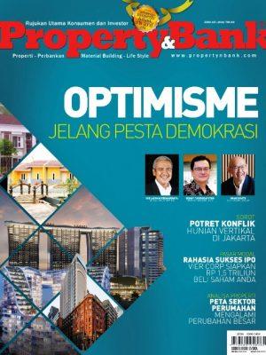 Cover Majalah Property&Bank edisi 157, tahun 2019