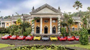 Ferrari Kunjungi Palladian Mansion Kaliandra di Lereng Gunung Arjuna