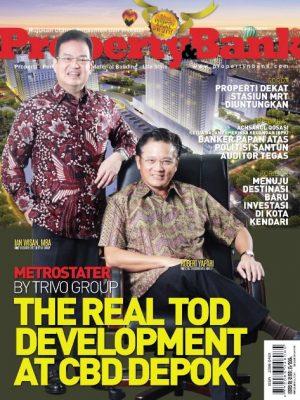 Cover Majalah Property&Bank edisi 160, Trivo Group