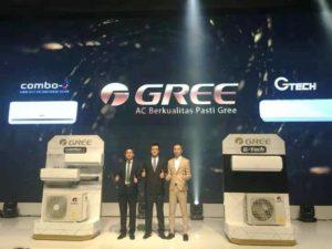 Teknologi AC, Gree Luncurkan Produk Teranyar G-Tech dan Combo-S
