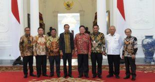 Pengurus APERSI dan Presiden Jokowi