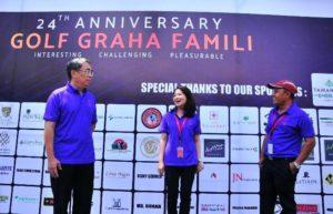 Ulang Tahun Golf Graha Famili, Di Gelar Turnamen Golf Ethnic Futuristic