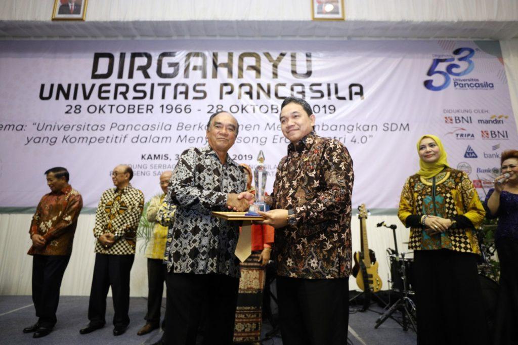 Universitas Pancasila Peringkat 5 PTS Terbaik DKI Jakarta