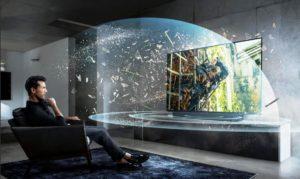 Teknologi Televisi Ini, Seperti Menonton Bioskop di Dalam Rumah