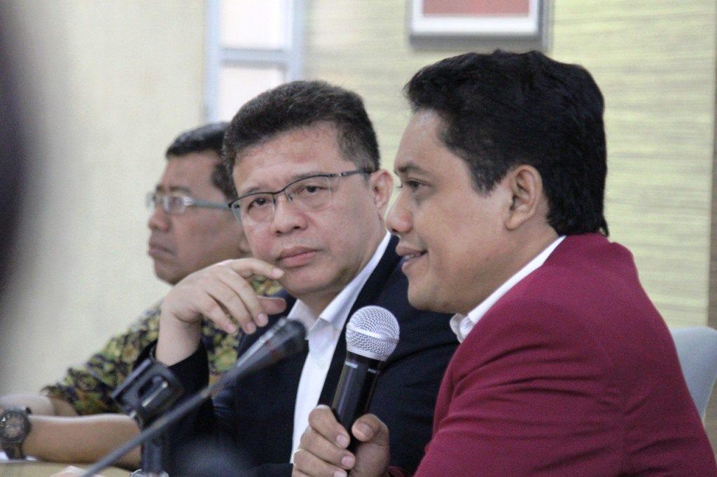 Rektor Universitas Tarumanegara Prof.Dr. Ir. Agustinus Purna Irawan
