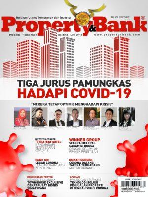 Cover Majalah Property&Bank edisi 170, April 2020