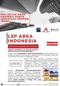 Pengembang Wajib Gunakan Jasa Agen Properti Bersertifikasi LSP Area Siap Mendukung