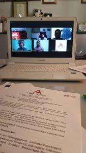 Disaksikan Langsung Tim BNSP, LSP AREAI Gelar Uji Kompetensi Online Perdana