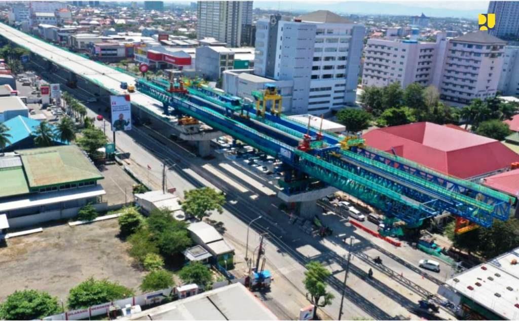 Jalan Tol Layang Andi Pangeran (AP) Pettarani Kota Makassar