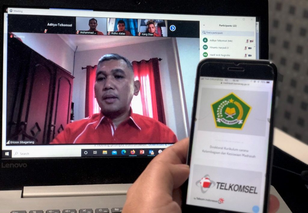 Kolaborasi Telkomsel - Kemenag