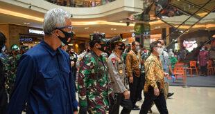 Ditinjau Panglima TNI dan Kapolri, Pollux Mall Paragon Disebut Sudah Terapkan New Normal