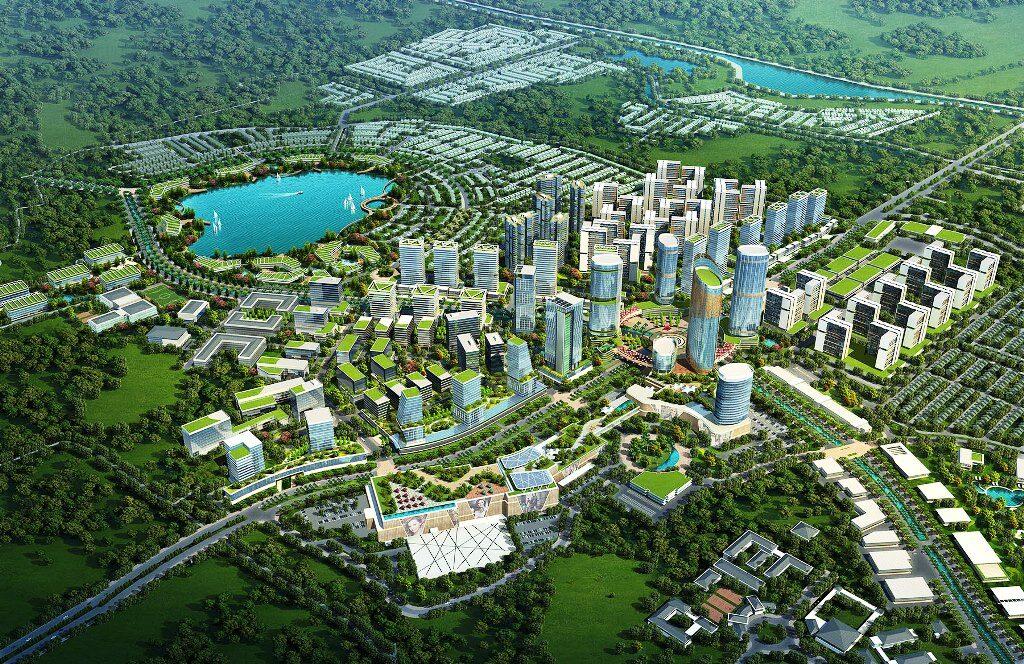 Masterplan Jakarta Garden City
