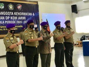 DPP IARMI DKI Jakarta Angkat Anggota Kehormatan dan Lantik Ketua Komsat IARMI Universitas Pancasila