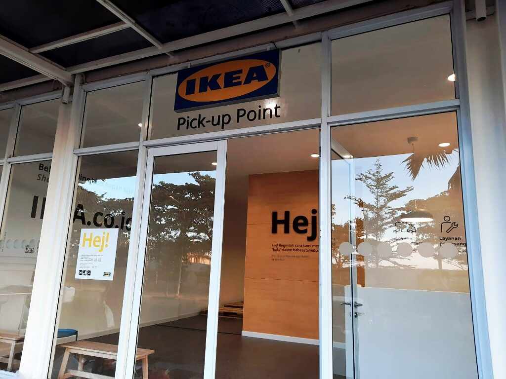 IKEA pick up point