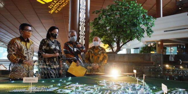 SSIA Tingkatkan Ekonomi Nasional, SSIA Bangun Kota Masa Depan Subang Smartpolitan     Property & Bank