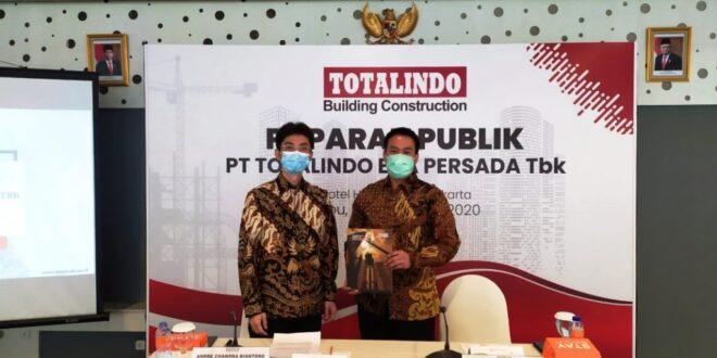 TOPS Bukukan Kontrak Baru Senilai Rp 993 M, Totalindo Eka Persada Capai Target | | Property & Bank